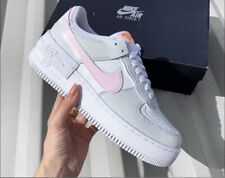 nike air force 1 rosa e bianche