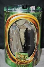 LORD OF THE RINGS FELLOWSHIP OF THE RING SARUMAN ACTION FIGURE TOYBIZ LOTR