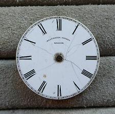 Platnauer FRERES Geneve Pocket Watch Movement, incompleto, per parti o di progetto.