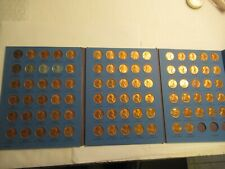 Lincoln Cent Collection 1941-1974, 87 coins, Whitman Folder