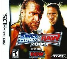 WWE SmackDown vs. Raw 2009 Featuring ECW (Nintendo DS, 2008)