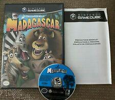 Madagascar (Nintendo GameCube) Case & Disc Only - TESTED