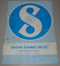 Ersatzteilliste Sachs Stamo 50 / 75 Nr. 410.2/9 Motor Ersatzteilkatalog!