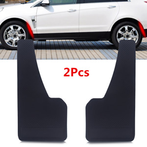 2PC ABS Mud Guard Universal Fit Car Mudflaps Front Rear Wheel Moulding Parts