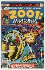 2001 A Space Odyssey 9 Marvel 1977 FN VF Movie Jack Kirby Machine Man