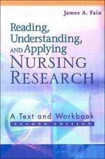 Reading Understanding and Applying Nursing Research Text+workbook 2nd Fain 2003
