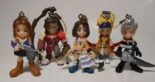 FINAL FANTASY X 2   SWING COLLECTION SERIE COMPLETE 5 FIG BANDAI NEUF