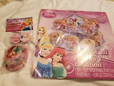 Disney Princess Cup Cake Liners & The Cake Stand New