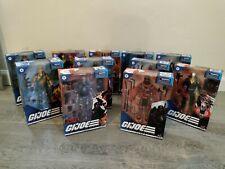 GI Joe Classified Lot of 11 NIB Firefly, Red Ninja, Snake Eyes, Beach Head +more