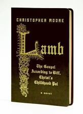 SIGNED Christopher Moore Lamb The Gospel According Biff Christ's Childhood Pal