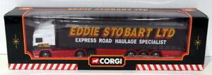 Corgi 1/64 Scale Diecast 59502 - ERF Curtainsider Trailer - Eddie Stobart Ltd