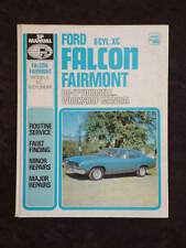 SP Manual #160 Ford Falcon Fairmont 6-cylinder XC HC service repair manual