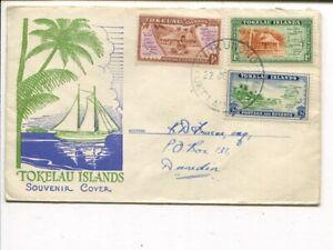 Tokelau Islands special cover 22 Je 1948