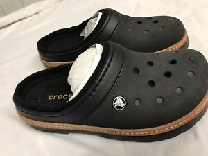 Crocs Relief Black Unisex 7/9 New