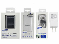 Battery&Charger for Genuine SAMSUNG Galaxy Note 4 IV SM-N910W8 N910A 3220mAh