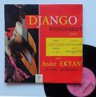 """Vinyle 33T Django Reinhardt """"...joue avec André Ekyan et son orchestre"""" - 25cm"""