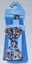 New Men Countess Mara Pocket Square & Floral Bow Tie 8854