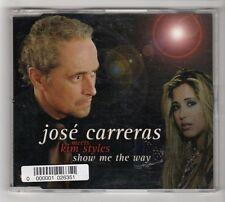 (HC150) José Carreras Meets Kim Styles, Show Me The Way - 2002 CD