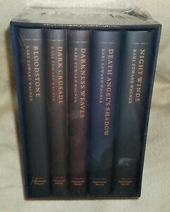 THE COMPLETE KANE Karl Edward Wagner 5-HC Book set Unsigned CENTIPEDE PRESS Mint