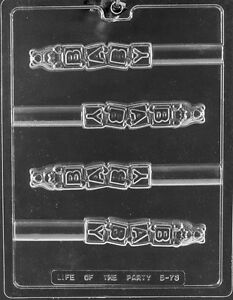 BABY BLOCK PRETZEL MOLD candy chocolate molds it's a boy girl gender reveal