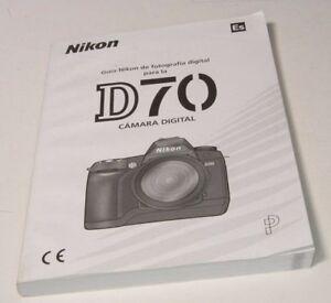 Nikon D70 Guia de Fotografia digital ES spanish espanol