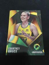 suncorp super netball trading card Australian diamonds Courtney Bruce AD-03