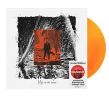 Justin Timberlake Man of The Woods Limited Edition Orange Vinyl Target LP