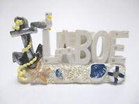 Laboe Ostsee Magnet  Poly Souvenir Germany Kieler Förde Anker