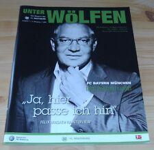 Programm VfL Wolfsburg - FC Bayern München 13.08.2011 - 1.Liga - 2011/2012