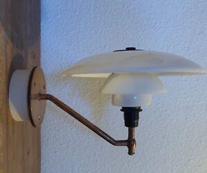 Poul Henningsen PH 3/2 Academy Louis Poulsen Wall lamp 1930's