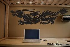 "Vinyl Wall Decal Sticker Chinese Dragon Custom 84""x24"""