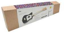 3-String Kids Loog Guitar Black For Learning New Guitar and Cognitive Skills