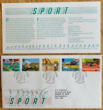 GB Stamps 1986 - 13th C'wealth Games & 6th Hockey World Cup SG1328/32 RM FDC