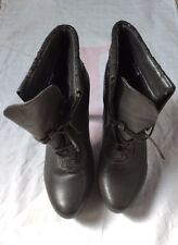 Ladies Girls Grey Shoes Boots Size 6