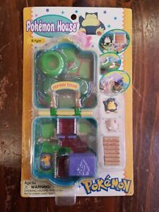 New  Pokemon House Playset #143 Snorlax #113 Chansey Package