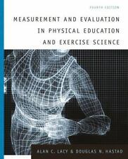 Measurement and Evaluation in Physical Education and Exercise Science (4th Editi