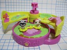 Littlest Pet Shop TEENIEST TINIEST MINI POP UP COMPACT Raccoon Dog Teensie set
