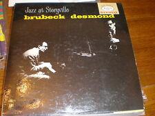 Dave Brubeck/Paul Desmond LP Jazz At Storyville BLUE VINYL
