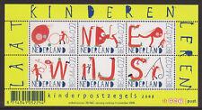 NVPH nr.2608 blok kinderzegels 2008 postfris (MNH)
