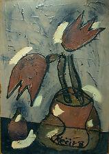 Bohumil KECIR (1904-1987) Stillleben mit Blumen Nr. F43