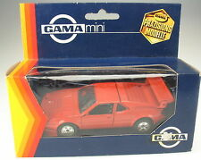 GAMA mini 891 - BMW M1 Rennausführung E26 - rot - 1:43 - in OVP (1109) model car