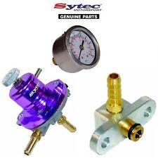 Sytec Benzindruckregler Satz + Benzinuhr - Toyota Starlet