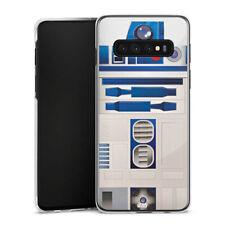 Samsung Galaxy S10 Plus Handyhülle Case Hülle - R2D2 Closeup