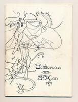 1971 WESTERCON 24 SFCON 71 PROGRAM Poul Anderson Science Fiction Convention con