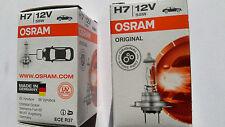 2 Stück Osram H7 Autolampe 12V 55W PX26d Original SPARE PART 64210 Glühlampe