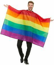 Rainbow Flag Gay Pride Flag Adults Carnival Festival Fancy Dress Accessory New