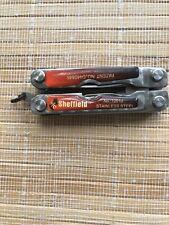 vintage Sheffield patented Knife - Multi-Tool - Pocket Knife & survival kit.