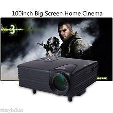 Mini Portable Full HD LED Projector Video Home Cinema Theater VGA USB AV SD New