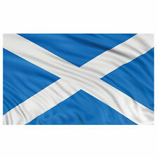 5ft Sports Football Rugby SCOTLAND Party Large Scottish National Fabric Flag