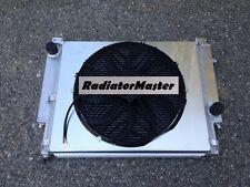 ALUMINUM RADIATOR FOR 1992-1999 BMW E36 M3 325 328 2ROW+SHROUD 93 94 95 96 97 98